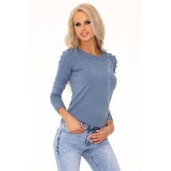 Sweter Ekenena Blue 649