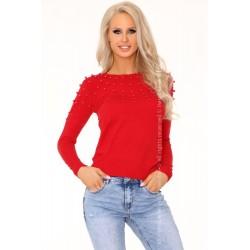 Sweter Ekenena Red 649
