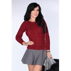 Sweter Sadila Maroon