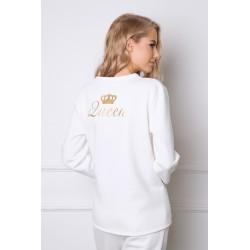 Piżama Crown Long White