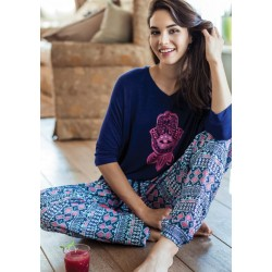 Piżama Eryka LHS 884 A7