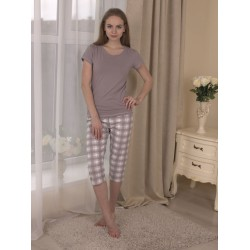 Piżama Memory 577 Mokka