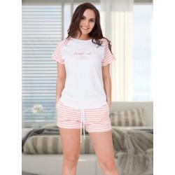 Piżama Amanda 615 Różowy...