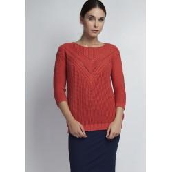 Sweter Penny SWE 041 Koralowy
