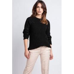 Sweter Kriss SWE 076 czarny